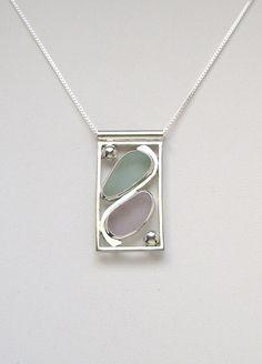 Sea Glass Jewelry Sterling Pastel Sea Glass