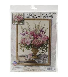 Design Works Symphony Bouquet Counted Cross Stitch Kit