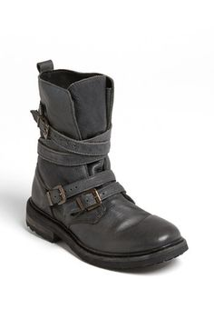 Grey moto boots. Topshop 'Arrested' Boot available at #Nordstrom