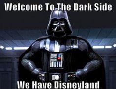 We have Disneyland.  --  Screw Disneyland; they have DISNEY WORLD!
