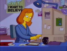 Simpsons - Scully