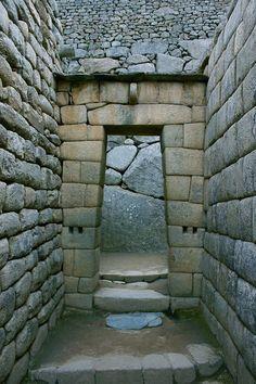 Portal, Machu Picchu, Cusco, Peru