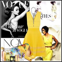 """""""Mellow Yellow"""" by ritadolce on Polyvore"""