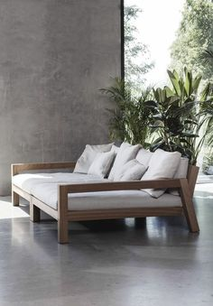 35 Outstanding Diy Sofa Design Ideas You Can Try - Garden - Furniture Sofa Furniture, Pallet Furniture, Furniture Design, Outdoor Furniture, Furniture Stores, Cheap Furniture, Furniture Ideas, Wooden Living Room Furniture, Pallet Sofa