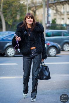 Marie Amelie Sauve Street Style Street Fashion Streetsnaps by STYLEDUMONDE Street Style Fashion Photography