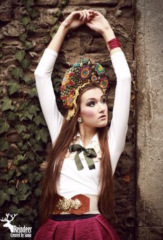 Russian Culture, Reindeer, Traditional, Facebook, Inspired, Usa, Inspiration, Beauty, Fashion