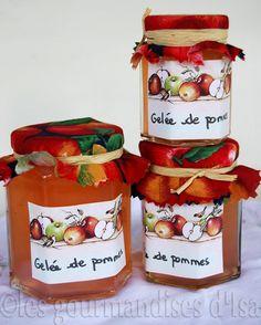 Les gourmandises d'Isa: DÉCLINAISONS DE GELÉES DE POMMES......reépinglé par Maurie Daboux