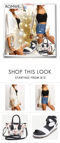 """""""ROMWE #9"""" by begicdamir ❤ liked on Polyvore featuring Benefit"""