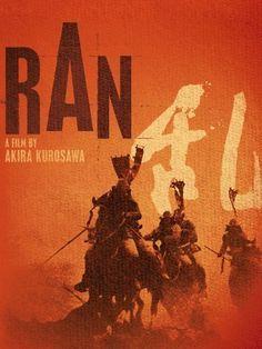 Film poster for Ran by Akira Kurosawa (1985)