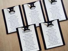 Frases para convite de casamento para padrinhos: Um convite fofíssimo, com direito a poema e tudo!
