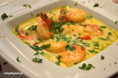 ym, na winie z imbirem Seafood Dishes, Fish And Seafood, Seafood Recipes, Soup Recipes, Great Recipes, Dinner Recipes, Healthy Recipes, Vegan Runner, Vegan Gains