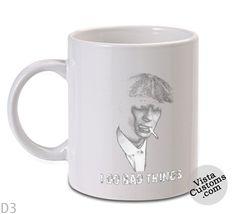 Peaky Blinders I do bad things Mug, Coffee mug coffee, Mug tea, Design for mug