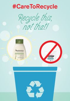 What are the recycling facts when it comes to plastic recycling? Many lotion and bodywash bottles are made with recyclable plastics. Floss containers are not recyclable because they're made with multiple materials. Learn more about what you can and can't recycle in your bathroom at caretorecycle.com. #CARETORECYCLE