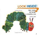 Eric Carle; Colorful illustrations rendered in simplified, native style that mostly features animals; best known for The Very Hungry Caterpillar.  - Notable Authors and Illustrators.