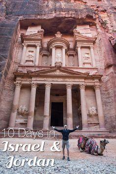 10 Days in Israel and Jordan. Old city of Jerusalem, Tel Aviv, Masada, Dead Sea, Red Sea, Negev Desert, Petra, and Wadi Rum.