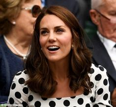 3rd July 2017: Opening day of Wimbledon 2017 - The Duchess arrives to watch Andy Murray's first match of the tournament