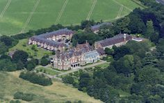 Whitlingham Hall in Norwich - UK aerial | by John D F