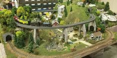 Layout made by yours truly! Model Train Layouts, Model Trains