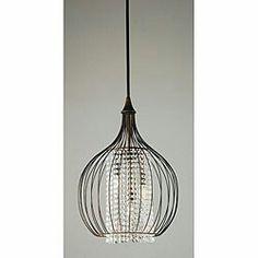[ lighting ] Indoor 3-light Copper / Crystal Pendant Chandelier