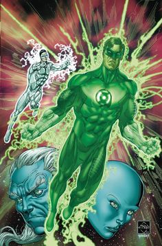 """""""BOTTLED LIGHT"""" part three! Trapped in a bottle by Larfleeze, the combined Green Lantern and Sinestro Corps find themselves in a race against time to escape from their bottled world as Kyle Rayner sea"""