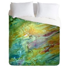 Rosie Brown Sea Fantasy Duvet Cover | DENY Designs Home Accessories - $129