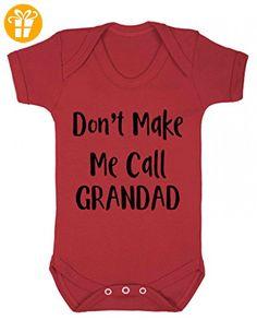 Don 't Make Me Call Grandad einem Stück Baby Grow Body Weste - Baby bodys baby einteiler baby stampler (*Partner-Link)