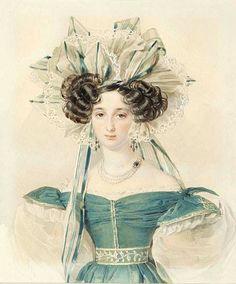1823 Pyotr Fyodorovich Sokolov - Elisabeth Vorontsova (Branicka)