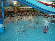 Niagara Falls Canada Tidal Wave Pool Fun