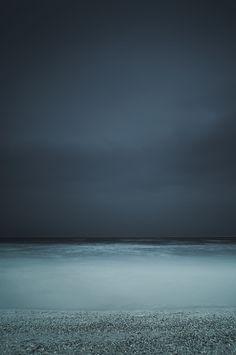 seascape at night
