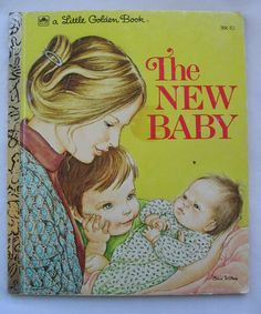 The New Baby Vintage Little Golden Book by Ruth by TheVintageRead, $5.25 I remember this book when I was little.