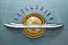 Chromeography   Metal logos, lettering, emblems, and badges affixed to vintage autos and appliances