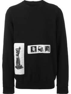 photo patch  sweatshirt