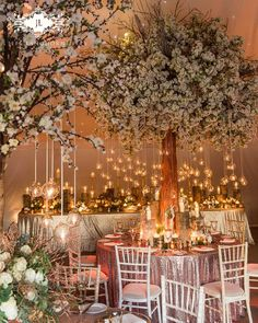 Hanging Lanterns Versus Lights For Dinner Terrace Wedding Treeswedding Marquee Decorationwedding