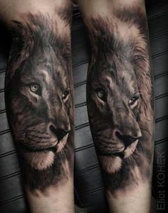 Tattoo-Foto: Löwe