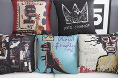 basquiat cushion - Google 검색