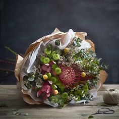 Natural Elegance Native Inspired Bouquet of Flowers