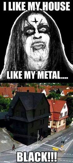 Black Metal Meme | I Laugh | Pinterest | Black Metal ...