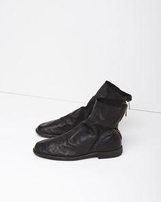 GUIDI   Zip-Back Short Boot   Shop @ La Garçonne