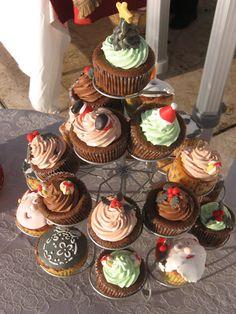 Criadora Implacável: Árvore de Cupcakes