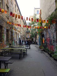Berlin od podwórka