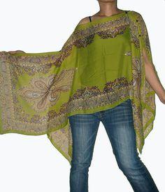 Gypsy Scarf Caftan Wing Casual Poncho