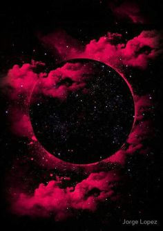 "Aside from the fact that a black hole is a black void. Hence the name, ""Black Hole."" But it's pretty. Who knew that black holes could look this beautiful? A stunning creation by Jorge Lopez Ramirez. Screen Wallpaper, Wallpaper Backgrounds, Black Hole Wallpaper, Blood Wallpaper, Wallpaper Samsung, Wallpaper Space, Wallpaper Quotes, Beautiful Moon, Beautiful Nature Wallpaper"