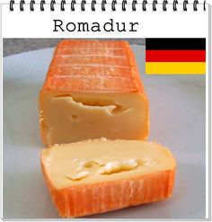 QUEIJO: Romadur ALEMANHA : Baviera LEITE: vaca CL ASSIFICAÇÃO:Semimole