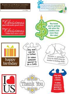Card Creations v. 8 Sentiments
