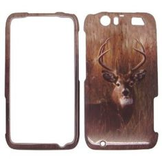 Deer on Grass Camo Camouflage Hunting Hard Case Cover Snap On Faceplate for - Motorola Atrix HD MB886 / Atrix 3 at $10.99