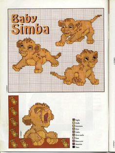 Baby Simba de il re leone
