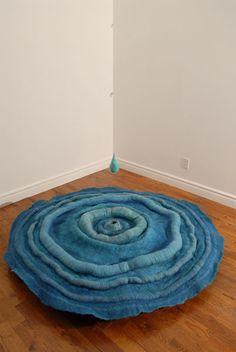 Atelier d'un pas feutré • Savoir Faire Textile • Créations Diane Gonthier