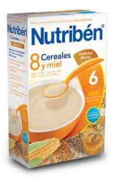 Nutriben 8 Cereales con miel y Galleta desde $4.65