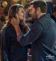 Chesapeake Shores, Season 2 - Abby (Meghan Ory) and Trace (Jesse Metcalfe) share an intimate moment.