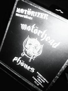 My new #motörheadphones are supercool!!! #heavymetal is the law!